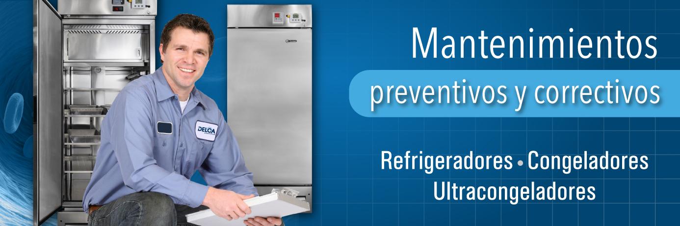 Delca Cientifica. Refrigeradores, congeladores biomédicos y más