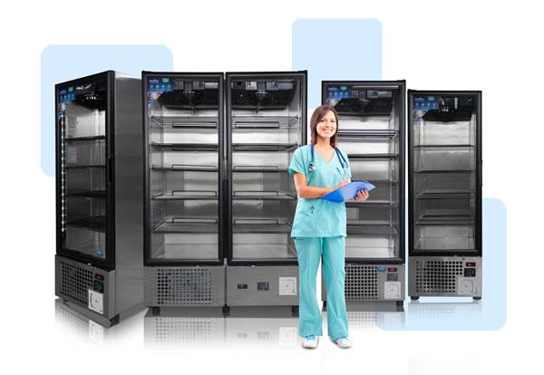 Refrigeradores para laboratorio