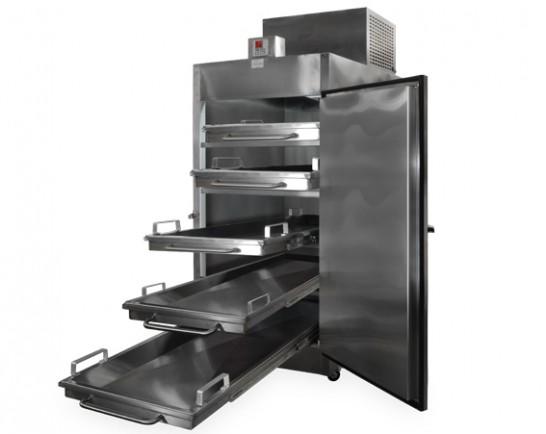 Refrigeradores para cadáveres. Refrigerador para Cadáveres para 5 Cuerpos con Salida Frontal
