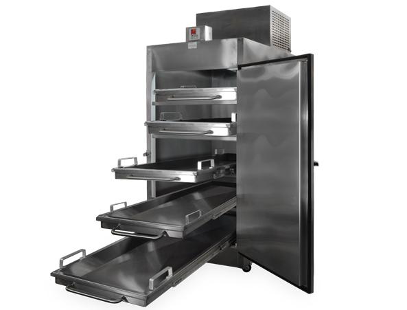 Refrigeradores para cadáveres Refrigerador para Cadáveres para 5 Cuerpos con Salida Frontal