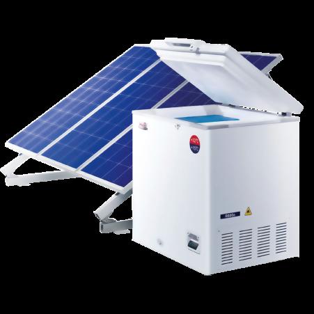 Refrigeradores solares para vacunas Refrigeradores Solares para vacunas Marca HAIER de 60 litros.