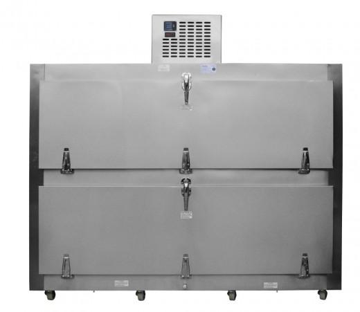 Refrigeradores para cadáveres Refrigerador para Cadáveres para 2 Cuerpos con Salida por el costado