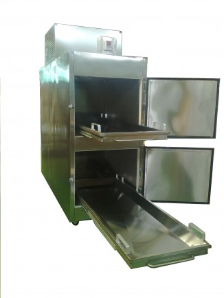 Refrigeradores para cadáveres. Refrigerador para Cadáveres para 2 Cuerpos con Salida Frontal