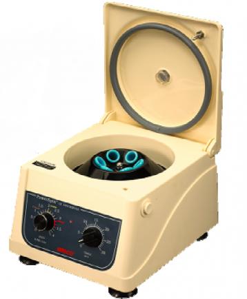 Centrifuga de mesa para laboratorio de 8 tubos a 4,000 RPM