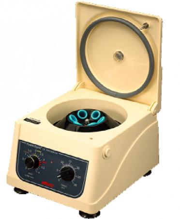Centrífugas Centrifuga de mesa para laboratorio de 8 tubos a 4,000 RPM