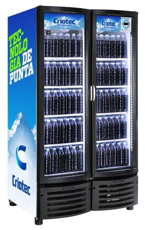 Refrigerador comercial de 24, 37 y 42 Pies Cúbicos, 2 puertas fabricado en galvanizado
