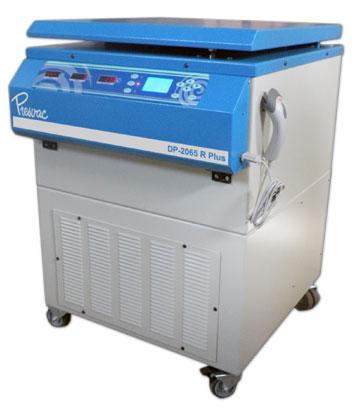 Equipamiento para banco de sangre: centrifuga refrigerada de piso y agitador de plaquetas Centrifuga refrigerada para Banco de Sangre de 6 vasos