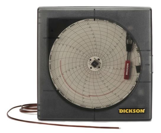Termograficador o Graficador Mecánico de Temperatura de 6 Pulgadas para 7 Días