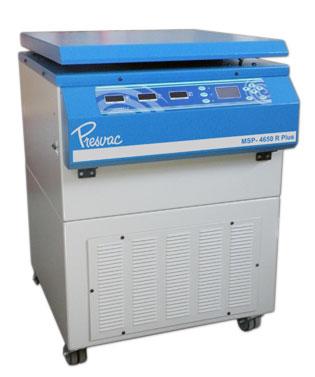 Centrifuga refrigerada para Banco de Sangre de 4 vasos