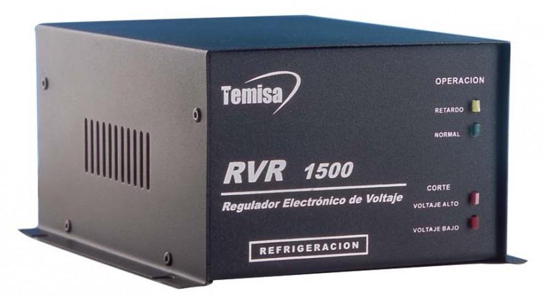 Regulador para refrigerador con supresor de picos y retardador de voltaje