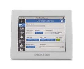 Data logger de temperatura con Pantalla Touchscreen con descarga vía USB
