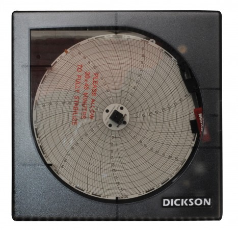 Sistema de supervisión de temperatura Termograficador o Graficador Mecánico de Temperatura de 6 Pulgadas para 7 Días
