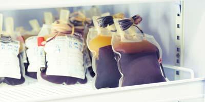 Refrigeradores para banco de sangre