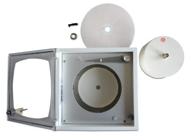 Termograficador o Graficador Mecánico de Temperatura de 5 Pulgadas para 7 Días