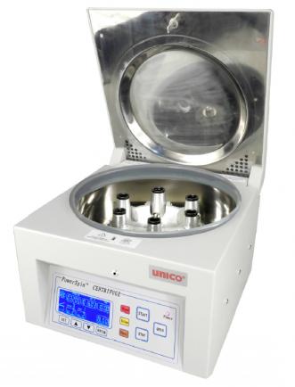 Centrifuga de mesa para laboratorio de 24 tubos a 4,000 RPM
